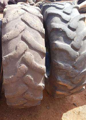 Second hand truck and tractor tyres