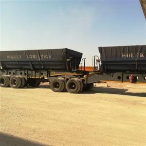 afrit tubmaster side tipper trailer
