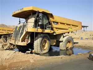 Caterpillar 777F Rigid Dump Truck - ON AUCTION