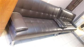 Leather sleeper couches