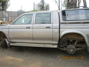 MITSUBISHI COLT RODEO STRIPPING FOR SPARES
