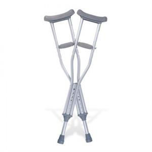MR WHEELCHAIR UNDERARM CRUTCHES