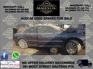 Audi A8 used spares for sale