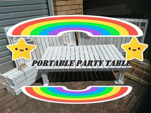 Manufactured Party Pallet Table