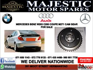 Mercedes benz W203 C200 M271 cam gears for sale