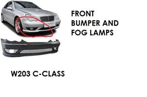 W203 C32 FRONT BUMPER WANTED