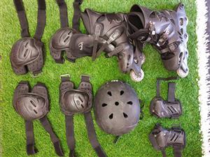 Roler skates & accesories