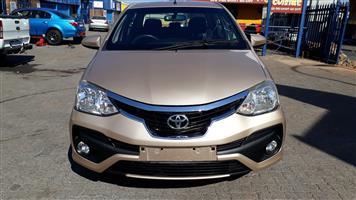 2018 Toyota Etios sedan ETIOS 1.5 Xs/SPRINT