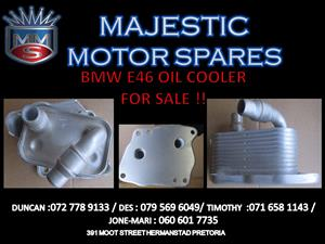 BMW E46 OIL COOLER