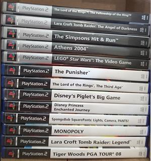 Sony Playstation 2 Games