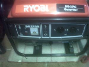Ryobi Rg 2700 Generator