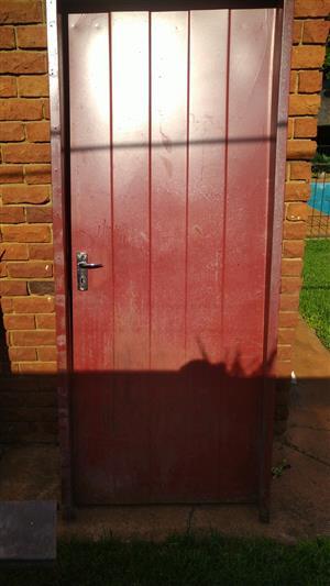 4 Stainless Steel Outdoor Doors For Sale