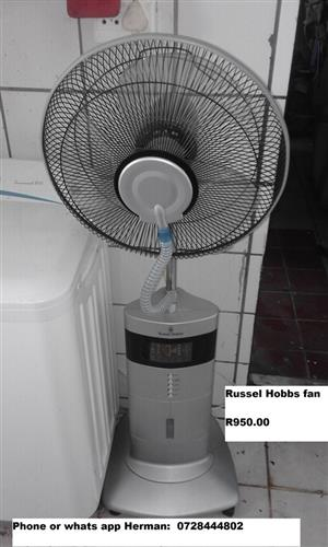 Russel Hobbs fan for sale
