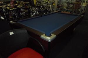 Wooden Pool Table + Accessories
