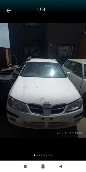Nissan Almera 2002 Stripping selling as spares