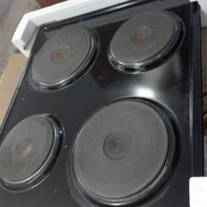 Defy 4 plate stove