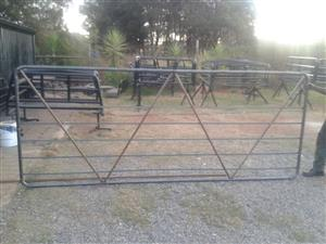 Farm gates , sheep farming equipment , cattle crush ,Goat gates
