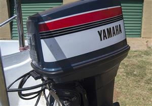 YAMAHA 75, ELECTRIC START, WITH TRIM AND TILT