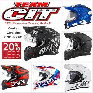 Oneal Sierra II Adventure Helmet Special