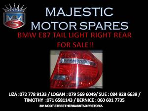 BMW E87 TAIL LIGHT FOR SALE !!