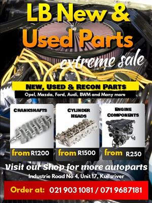 Automotive engine Parts for all make and models