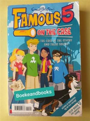 Famous 5 On The Case - Enid Blyton - The Case Of The Sticks And Their Tricks.