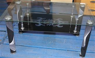 S035303A Glass coffee table #Rosettenvillepawnshop