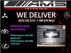 MERCEDES BENZ W169 RADIO FOR SALE