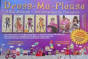 DRESS-ME-PLEASE-EDUCATIONAL DOLLS! Recommended by Therapists, Teachers... Contact: Anza 0814043930