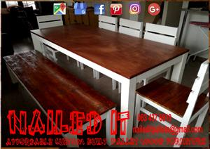 Custom Pallet Wood Furniture Durban KZN
