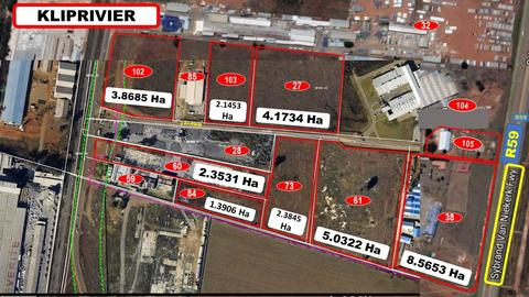 12X (R59) HIGHWAY, PROPERTIES FOR SALE (From R40/SQM)