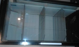 glas door fridge