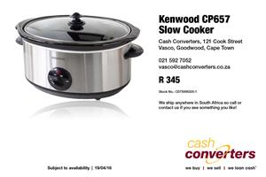 Kenwood CP657 Slow Cooker