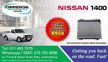 NISSAN 1400 RADIATORS