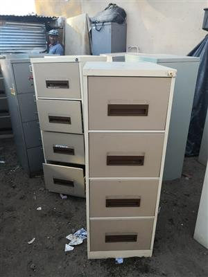 Steel filling cabinet 32 pieces available