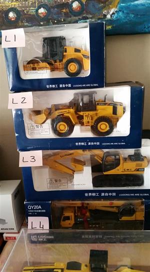 Yellow earthmoving toys for sale
