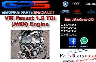 VW Passat 1.9 TDI (AWX) Engine for Sale