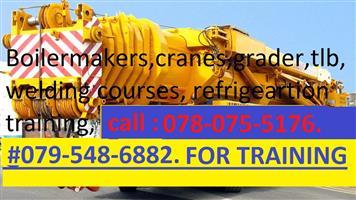 ARTISAN COURSES.EDUCATIONAL COURSE.CRANE.MACHINERY.0780755176.GRADER. CRANES.BOILERMAKER.WELDING COURSES.TRADE TEST