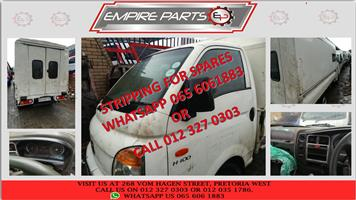 *STRIPPING FOR SPARES* HY059 HYUNDAI H100 2006 -
