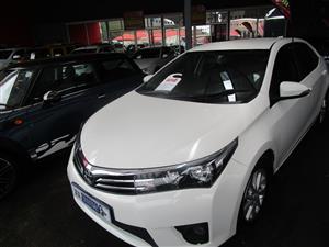 2015 Toyota Corolla 1.6 Professional