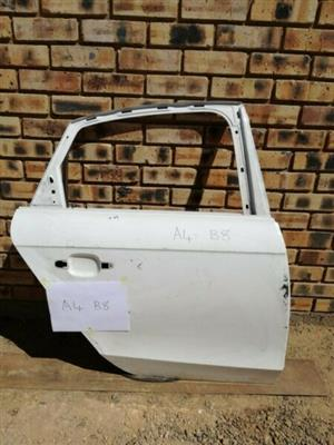 Audi A4 B8 Right Rear Door  Contact for Price