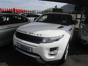 2014 Land Rover Range Rover Evoque SD4 Dynamic