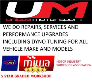 Performance Upgrades / Modification, Vehicle Servicing & General Repairs