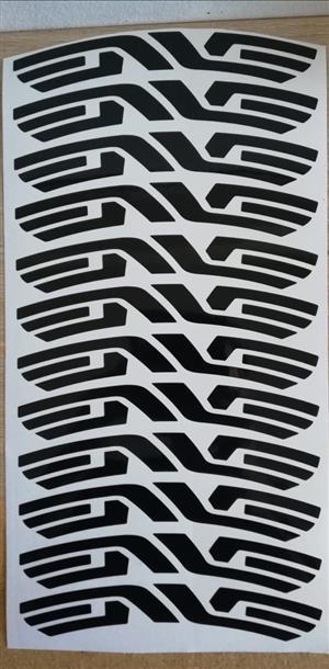 ENVE 700C rim decals stickers graphics.