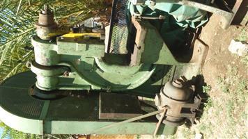H Raskin 80T press for sale