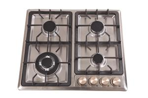 Zooltro Stainless Steel Gas Hob Cooktop Stove - 4 Burners