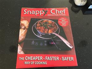 4x Snappy Chef 1-Plate Induction Stove 2000W