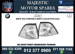 Bmw E36 corner lamps for sale