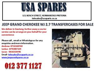 JEEP GRAND CHEROKEE WJ 2.7 TRANSFER CASE FOR SALE. CALL NOW