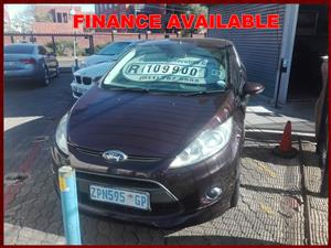 2010 Ford Fiesta 1.6 3 door Titanium